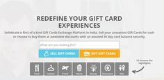 Making Buying and Selling of #GiftCard - easy, reliable and fast. Know more about us on - http://www.sellebrate.in/