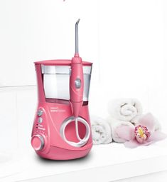 Brighten Your World Buy a Pink Waterpik® Aquarius™ Water Flosser from our new Designer Series and we'll donate $10 to Breast Cancer Support. Visit waterpik.com for details!