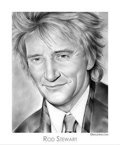 Rod Stewart by gregchapin on deviantART~ artist Greg Joens