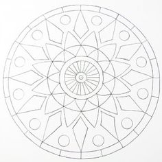 Simple Mandala Coloring Pages for kids. Free. | CI ...
