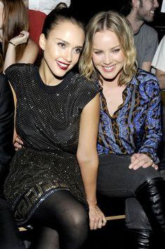 Jessica Alba and Abbie Cornish Photos - Versace For H&M Fashion Event - Inside - Zimbio