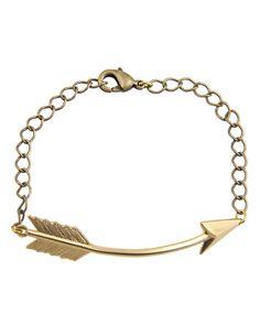 arm party: arrow bracelet