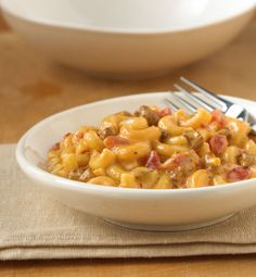 Chili Mac and Cheese. Two of our favorite comfort foods come together ...