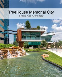 This green-roofed project uses 50% less energy than baseline office buildings for which it has been awarded an innovative technology credit award by the U.S. Green Building Council (USGBC).  TreeHouse Memorial City office building, by @StudioRED, is a #LEED Platinum certified building that uses #sustainable #design strategies! https://twitter.com/SapienzaSDME