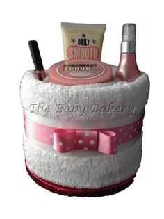 Pamper Cake by The Baby Bakery www.thebabybakery.co.uk