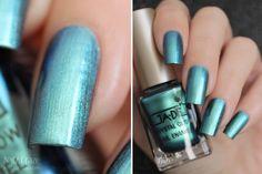 Nailz Craze: Ga-De 493 Blue Satin