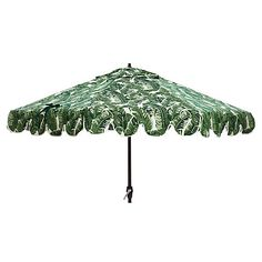 Phoebe Scallop-Edge Umbrella, Tropics Jungle
