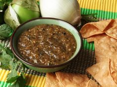 Charred Salsa Verde: The One Salsa to Rule Them All — Serious Eats Burritos, Enchiladas, Tacos Vegan, Mexican Salsa Verde, Salsa Verde Recipe, Charred Salsa Recipe, Smoked Salsa Recipe, Catering, Salsa Picante