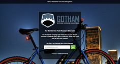 "Gotham Bicycle Defense Industries. Learn their 5 Tips for a ""Friend Fueled Launch,"" just click the image."