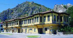 Sehzadeler şehri Amasya  Muhteşem Eşsiz  Evleri
