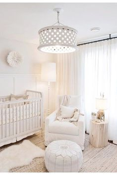 Beautiful Bedroom Designs, Girl Bedroom Designs, Beautiful Bedrooms, Girls Bedroom, Baby Room Design, Baby Room Decor, Bedroom Decor, Bedroom Ideas, White Nursery