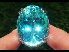 INVESTMENT GRADE 11.57 Carat Sphene & Diamond Ring Solid 14K Gold in HD - YouTube