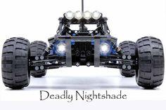 LEGO Deadly Nightshade Off-Road Buggy - building instructions and parts list. Lego Cars, Mermaid Home Decor, Lego Videos, Off Road Buggy, 3d Printing Diy, Lego Mindstorms, Custom Trucks, Rc Trucks, Lego Mecha