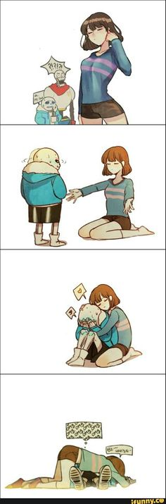Frisk is all grown up.