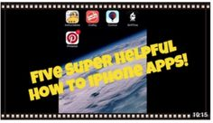 Five Helpful How To iPhone Apps