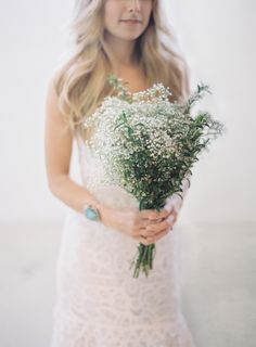 another take on baby's breath BM bouquets