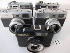 FC5-477KC ヤシカ等 フィルムカメラ 5台セット ジャンク - ヤフオク!   YASHICA  ELECTRO35GS YASHICA  ELECTRO35   MINOLTA  HI-MATIC 7 MINOLTA  HI-MATIC 7 FED  ФЭД-50 (FED50)