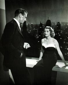 Gary Cooper & Patricia Neal in The Fountainhead 1949