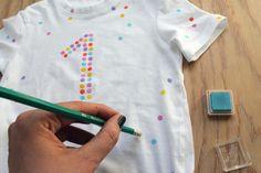 WLKMNDYS // Happy Monday DIY // Konfetti Shirt
