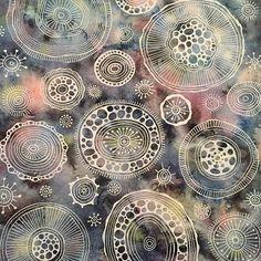 More cells #art #underthemicroscope #patterndesign #cells #organisms #art_help #patternart #instaart #artnerd #watercolor #ink #artwork #sketch_daily #artnerd2016 #obsessedwithmicroscopestuff #doodling #artfido #justartspiration #artistic_discover