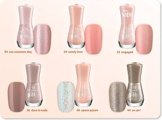oh so natural! which of these subtle shades is your favorite?