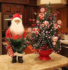 Southern Seazons: Christmas kitchen tour