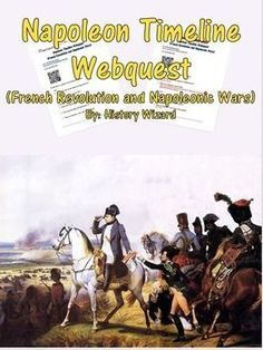 Napoleon Timeline Webquest uses a great website created by the BBC that allows…