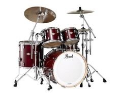 Pearl MCX904XP/C280 Shell Pack, Vintage Wine (Cymbals and Hardware Not Included) by Pearl. $1699.00. Amazon.com                Masters MCX features the same 6-ply Maple shells and Masters quality drum hardware as its big brother, Masters Premium MRP. Masters MCX offers a select number of spactacular glass glitter wrapped finishes and high-gloss UV laquer finishes with dazzling chrome hardware. Standard features include Masters OptiMounts, MasterCast Die-Cast hoops, s...