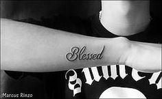 tatuagem blessed - Pesquisa Google