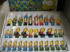 The #simpsons 3-d chess set  board #game. #excellent condition.,  View more on the LINK: 	http://www.zeppy.io/product/gb/2/361506593037/
