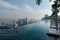 La « piscine de l'infini » de Marina Bay Sands Photo by Chia Ming Chien