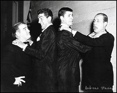 Martin and Lewis with Abbott and Costello! THIS IS THE GREATEST THING IN THE WORLD!