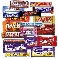 british candy is better (except for Turkish delight which is quite nasty)