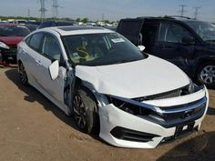 #Salvage 2016 #Honda #Civic #forsale http://ift.tt/2raApLk #vehicles #cars #auction #auto