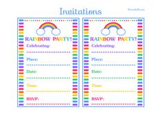 Time To Party! FREE Birthday Party Printables Galore!   How Does She...
