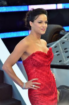 Michelle Rodriguez at Fast and Furious 6 Premier