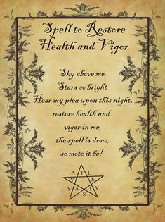 wiccanspells halloween homemade restore health spell vigor book and for to Spell to Restore Health and Vigor for Homemade Halloween Spell Book Spell to Restore Health and ViYou can find Healing spells and more on our website Wiccan Spell Book, Wiccan Witch, Witch Spell, Spell Books, Halloween Spell Book, Halloween Spells, Spells For Beginners, Witchcraft For Beginners, Healing Spells