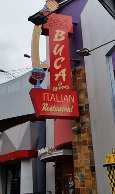 Italienisches Restaurant in den Universal Studios Hollywood
