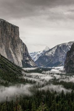stunning view of Yosemite