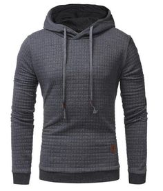 Cheap sweatshirt fashion, Buy Quality hoodies directly from China fashion hoodie Suppliers: JCCHENFS Hoodies Pullover Men 2017 Men's Long Sleeve Hoodie Casual Slim Fashion Hoodies High-quality long-sleeved Sweatshirt Hoodie Sweatshirts, Moda Fitness, Men's Fitness, Fitness Fashion, Pulls, Men Sweater, Hooded Sweater, Men Casual, Plaid