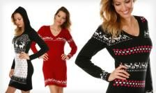 $15.99 for a Nordic Sweater Dress ($89 List Price). Multiple Styles and Colours Available.
