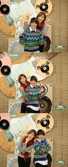 T-ara's Eunjung and f(x)'s Amber appointed as the new MCs of 'Show Champion'