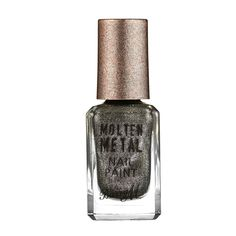 Barry M Molten Metal Nail Paint Black Diamond.