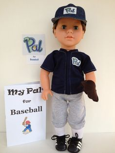 "My Sibling and My Pal Dolls — 18"" boy doll - baseball doll - My Pal® for Baseball"