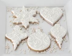 Ornament Sugar Cookies | Amy Atlas Events