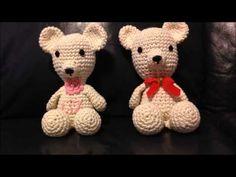 Ursinho em Crochê - Tutorial Parte 1 - YouTube Amigurumi Patterns, Crochet Patterns, Crochet Skirts, Baby Girl Blankets, Crochet Bear, Crafts To Make, Teddy Bear, Knitting, Miniature
