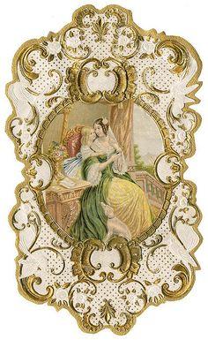 Antique French Perfume Label by Alys Geertsen Vintage Prints, Éphémères Vintage, Papel Vintage, Images Vintage, Vintage Labels, Vintage Ephemera, Vintage Pictures, Vintage Paper, Vintage Postcards