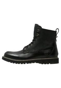 4887f797731 BRITTON HILL - Snørestøvletter - black