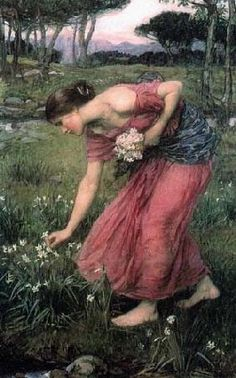 John William Waterhouse - Narziß