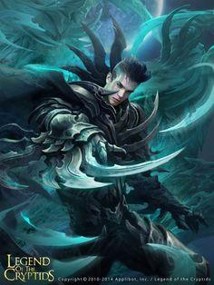 Artist: Thitipon Dicruen aka xric7 - Title: assassin adv - Card: Jared of the King's Blades (Cobalt)